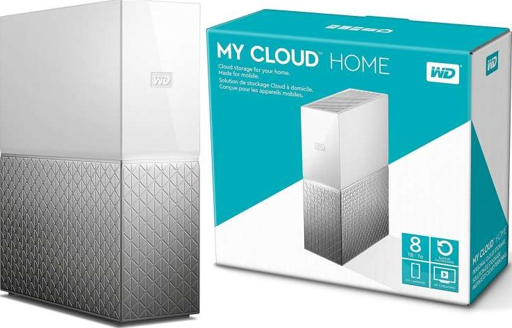 WD My Cloud Home 8TB ethernet