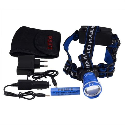 Police Ps-1824 Cree T6 Led Zoom